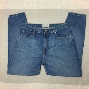 Everlane High-Rise Skinny Ankle Jean